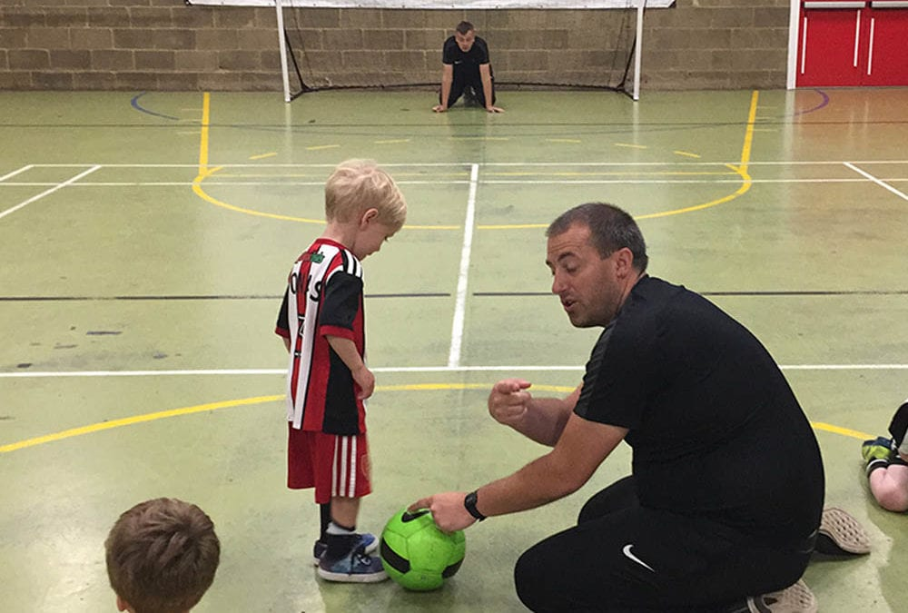 Tots Football – Monday's 10.15-11.15am